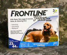 Frontline Plus Blue For Medium Dogs 23-44 lbs
