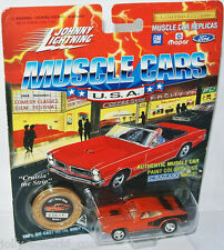 Muscle Cars USA - 1971 PLYMOUTH HEMI CUDA - orange - 1:64 Johnny Lightning