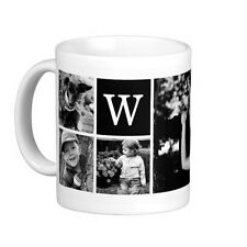 Personalized Cup White coffee mug custom Gift ceramic gift Logo Text Photo Dad