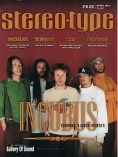 3/2004 STEREO-TYPE magazine  INCUBUS cover