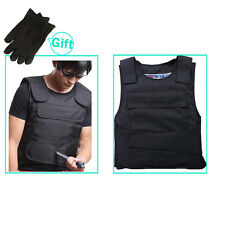 Body Armor Anti Knife Stab Front and Back Armor Proof Vest Concealed Vest NEW BE