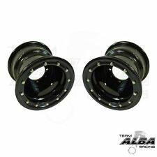 YFZ 450 YFZ 450R  Rear Wheels  Beadlock  8x8  3+5  4/115  Alba Racing  Blk/blk