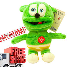 "Singing Stuffed Animal 8,5"" Gummy Bear Gummibär Song With You Green Small New"