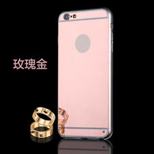 Luxury Ultra-thin Soft Silicone TPU Mirror Case Cover For Apple iPhone 7 6S Plus