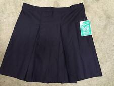 Classroom NEW girls skirt size 16 1/2 navy blue NWT school uniform pleated