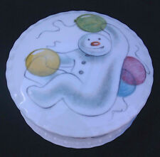 ROYAL DOULTON - BALLOONS TRINKET POT from THE SNOWMAN GIFT COLLECTION.