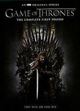 Game of Thrones: The Complete First Season (DVD, 2015, 5-Disc Set) Season 1
