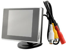 3.5inch TFT LCD Car Rear View Monitor Color Screen DVD VCR For Backup Camera