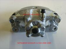 Mitsubishi Shogun Pajero 3.2 DiD étrier frein arrière N/S/R COMPLET AVEC SUPPORT