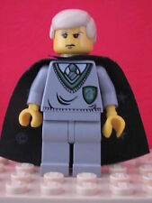 LEGO Harry Potter @@ Minifig @ hp040 @@ Draco Malfoy, Slytherin - 4709 4733 4735