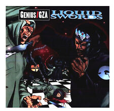 "GZA / GENIUS - LIQUID SWORDS - 2X 12"" VINYL LP RECORD - SEALED & MINT / WU-TANG"