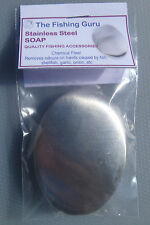 Stainless Steel Soap - Remove odours from FISH, BAIT, GARLIC, ONION, ETC