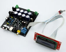 YJ AK4490+AK4118+AD827 USB DAC Completed decoder board+softwave control+LCD