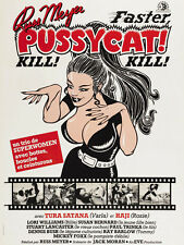 "Faster Pussycat kill kill  Movie Poster  Replica 13x19"" Photo Print"