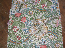 2  SANDERSON WILLIAM MORRIS CURTAIN FABRIC SWATCHES LINEN UNION FABRICS