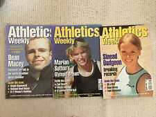 Athetics Weekly Magazines - 1999 - 3 issues