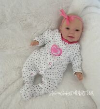 Happy AWAKE Reborn Baby GIRL Doll ... #RebornBabyDollART UK