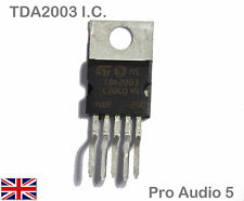 TDA2003 IC Audio Power Amplifier 10w TDA 2003 - Hi Fi Car Stereo - QUALITY UK