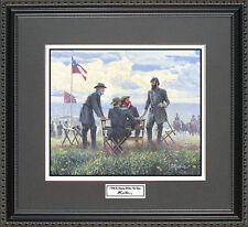 Mort Kunstler I WILL BE MOVING WITHIN  Framed Print Civil War Wall Art Gift