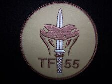 Netherlands Dutch Special Operations Special Forces Task Force 55 Patch (Desert)