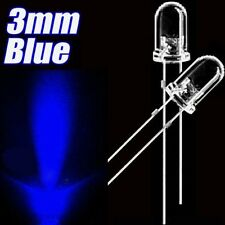 50pcs F3 3mm Blue Round Superbright LED Light LED lamp NEW L8
