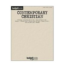 Contemporary Christian Songs Budget Book Series PVG Piano Vocal Guitar Songbook