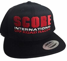 SCORE International Off Road Racing hat cap flat bill snapback desert baja 1000