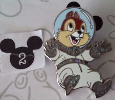 Chip N Dale Chip Astronaut from Chipmunks Set Disney Pin Set Buy 2 Save $