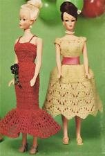 BARBIE DOLL PARTY DRESSES -  doll crochet & knitting