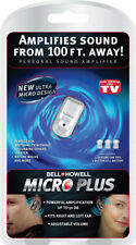 Bell Howell Micro Plus Sound Amplifier hearing aid AS SEEN ON TV