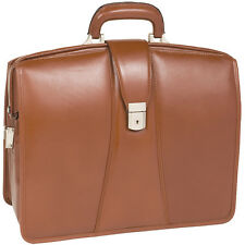 "McKleinUSA HARRISON Brown 83384 Laptop Case 17"" x 7"" x 14"" NEW"