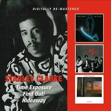 Time Exposure/Find Out!/Hideaway by Stanley Clarke (Double Bass) (CD,...