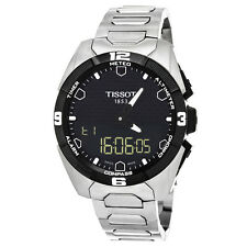 Tissot Men's T091.420.44.051.00 T-Touch Solar Analog-Digital Display Watch