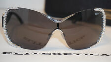 New Authentic Chopard Sunglasses Limited Blk/Crystals SCH A65S 0579 99 0 125
