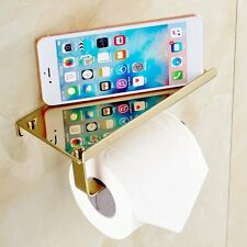 Stainless Steel Hardware Cell Phone Holder Towel Roll Paper Tissue Rack 185mm SM