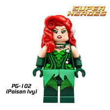 Poison Ivy custom minifigure Lego fittable building toy Batman movie set