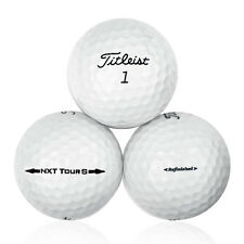 12 Titleist NXT Tour S Refinished Golf Balls No Logos or Player Markings