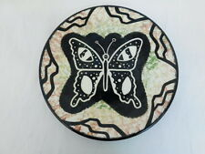 MANA POTTERY ARIZONA PLATE BUTTERFLY APACHE 1948-1980