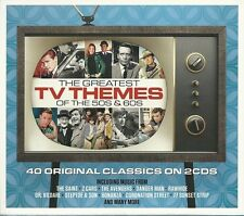 THE GREATEST TV THEMES OF THE 50'S & 60'S Inc THE SAINT, Z CARS & MANY MORE