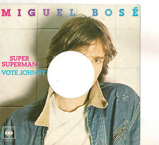 MIGUEL BOSE' - SUPER SUPERMAN  - SOLO COPERTINA - ONLY COVER - EX++
