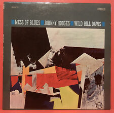 JOHNNY HODGES WILD BILL DAVIS MESS OF BLUES LP 64 BURRELL GREAT COND! VG+/VG++!!