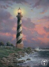 Cape Hatteras Light - North Carolina Lighthouse - Thomas Kinkade Dealer Postcard