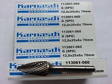 1 Kegel  Frässftift Karnasch HM G Form NEU inkl.19% MwSt.