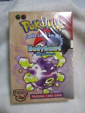 Pokemon BRAND NEW Factory Sealed Fossil Unlimited Bodyguard Theme Deck Muk holo