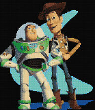 "Toy Story Counted Cross Stitch Kit 10"" x 11"" TV/Film, Designs In Thread Free P&P"