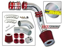 """3"""" RED Cold Air Intake Induction Kit + Filter For 99-05 Grand Am/Alero 3.4L V6"""