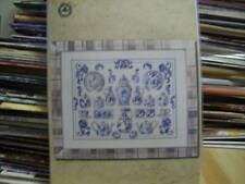 Permin Blue Delft China Counted Cross Stitch Kit 20x15 Inches #70-5132