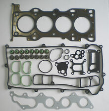 HEAD GASKET SET FITS FORD MONDEO MAZDA 6 1.8 DURATEC 00 on METAL CAM COVER BOX