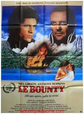 LE BOUNTY Affiche Cinéma / Movie Poster MEL GIBSON ANTHONY HOPKINS