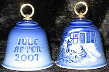 2007 BING & GRONDAHL WEIHNACHTSGLOCKE / CHRISTMAS BELL TOP 1. WAHL